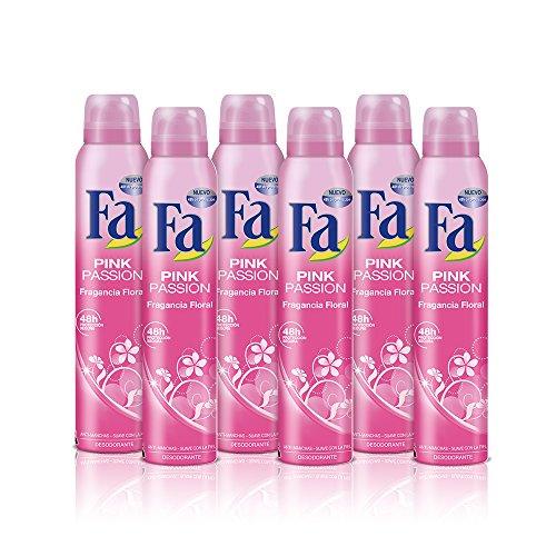 Fa Deo Spray Pink Passion - 6 Stück
