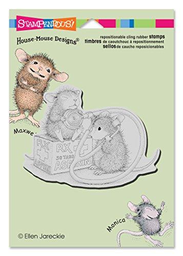 Unbekannt Stampendous hmcp62Krankenschwester Maus Haus Maus selbst Gummi Stempel -