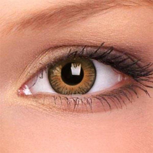 Braune Kontaktlinsen '