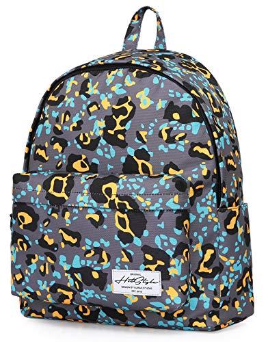 Gepard-mädchen-kleidung (SIMPLAY Plus Klassischer Schulrucksack Büchertasche, 44x30x12.5cm, Gepard, Bunt)