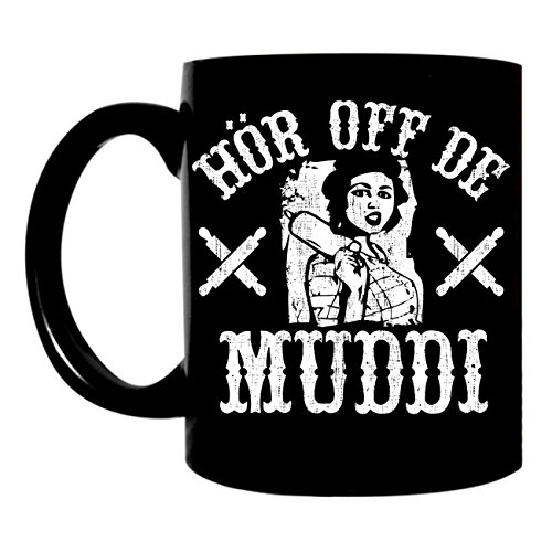 Preisvergleich Produktbild Tasse Becher MUTTER Hör off de Muddi