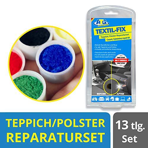 ATG - Autositz Brandloch Reparaturset - für alle Polster  - 13 teilig (sortierte Verpackung)