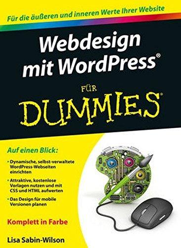 51auB6BaulL - Webdesign mit Wordpress für Dummies by Lisa Sabin-Wilson (2016-04-14)