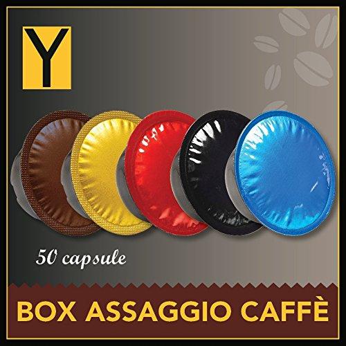 50 CAPSULE LAVAZZA A MODO MIO compatibili Box caffè 5 Miscele