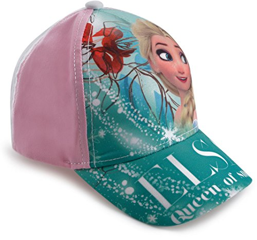 Girls - Frozen Elsa Queen Of Snow Baseball Summer Beach Cap Hat