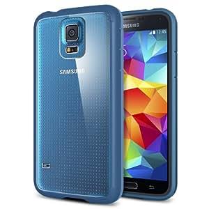 Spigen Ultra Hybrid Coque pour Samsung Galaxy S5 Bleu