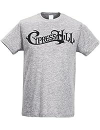 26cdee3f73c38 LaMAGLIERIA Camiseta Hombre Slim - Cypress Hill - Camiseta 100% algodòn  Ring Spun