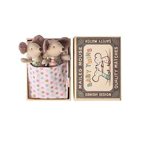 Maileg Maus Baby Zwillinge in Box (Maileg Mais)