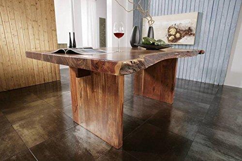 Baumtisch 170x110 Massivmöbel Akazie Holz