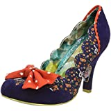 Irregular Choice Beach Trip Women's Mid Heel Court Shoe