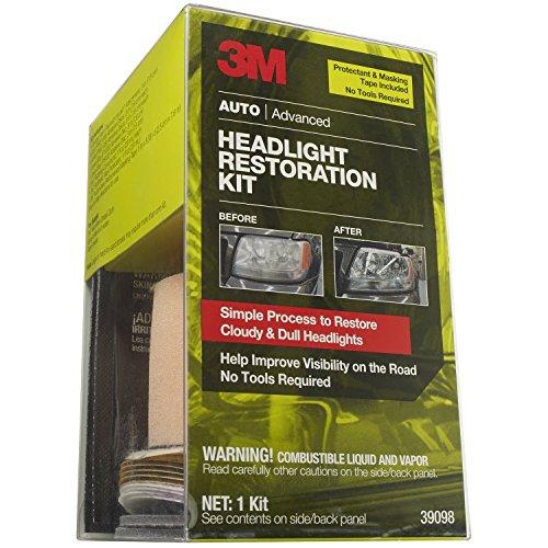 3M 39098Scheinwerfer-Restauration Kit mit Klebeband und Protectant