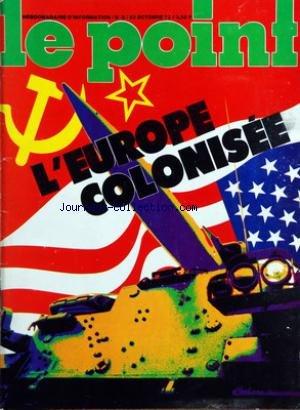 POINT (LE) [No 5] du 23/10/1972 - L'EUROPE COL...