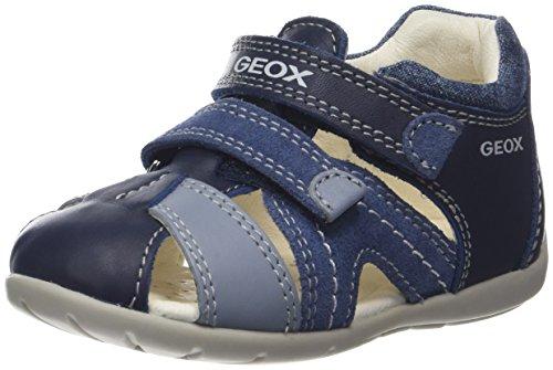 Geox B Kaytan C, Sandalias para Bebés, Azul, 23 EU