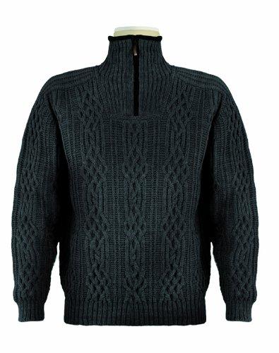 Dale of Norway Herren Pullover HenningsvAer Unisex Sweater, Dark Charcoal, M, 90371-T