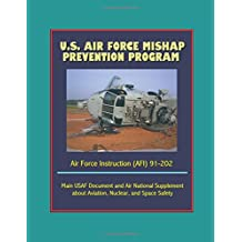 U.S. Air Force Mishap Prevention Program - Air Force Instruction (AFI) 91-202 - Main USAF Document and Air National Guard Supplement about Aviation, Nuclear, and Space Safety