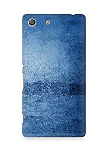 Amez designer printed 3d premium high quality back case cover for Sony Xperia M5 (Blue pattern)