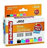edding 18-602 Druckerpatrone EDD-602, Ersetzt: Epson T0481-86, CMYK mit photo, cyan/magenta