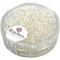 1Dose Rocailles 2,6mm con introduzione d' argento,