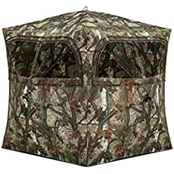 Barronett Blinds Grounder 250 2 Person Hub Blind, Woodland Camo by Ardisam, Inc. (Sports)