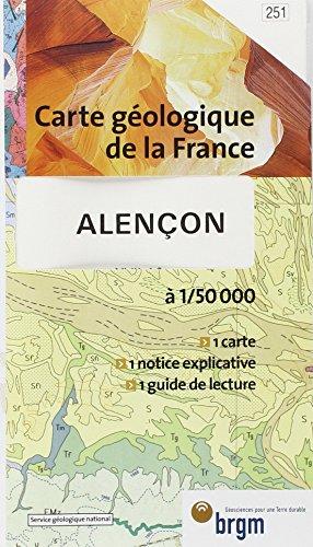 Carte géologique : Alençon par Cartes BRGM