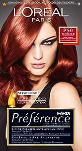 L'oreal Lot de 3 Colorations Préférence Férias - P50 Pure Amber