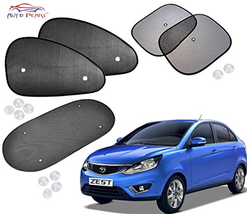 auto pearl - premium quality car auto window side chipokoo sunshade curtains for - tata zest - set of 5pcs Auto Pearl – Premium Quality Car Auto Window Side Chipokoo Sunshade Curtains For – Tata Zest – Set of 5Pcs 51auLlqDv6L