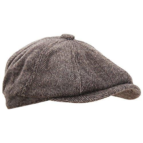 903b839fdb KeepSa Coppola Cappello Irish Gatsby Newsboy Hat Wool Felt Gatsby ...