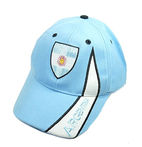 Argentinien Cap (Fan Cap Argentinien Argentina NEU Kappe Flagge Basecap)