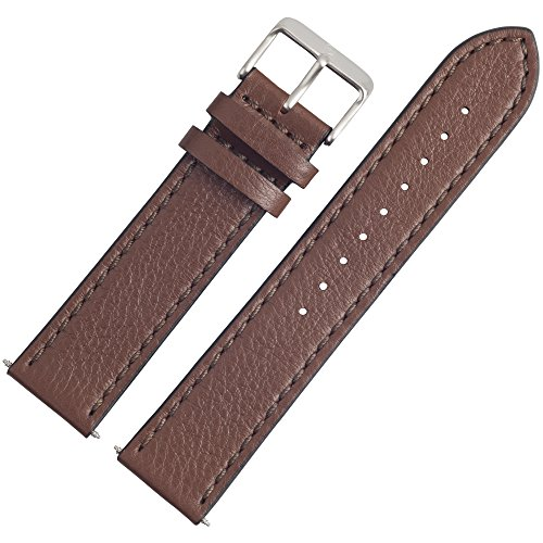Victorinox Uhrenarmband 21mm Leder Braun - 004389