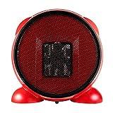 Axcui Portable Silent Elektrische Heizung 500 Watt, Kunststoff Mini Kleine High Power Heißluft Heizung, Studentenwohnheim Büro Desktop,A