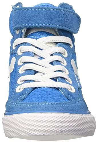 DrunknMunky Boston Wave, Scarpe da Tennis Bambino Blu (Royal/White)