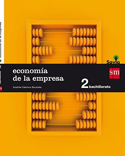 Economía. 2 Bachillerato. Savia - 9788467587128 por Andrés Cabrera Bautista