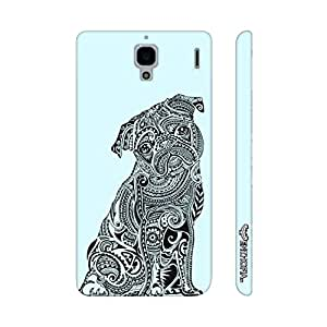 Xiaomi Red Mi 1s Dog Tattoo 2 designer mobile hard shell case by Enthopia