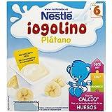 Nestlé iogolino - Plátano - A Partir de 6 Meses 4 x 100 g - Pack de 3