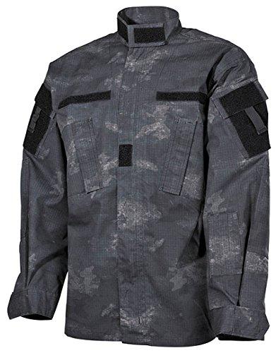 US Feldjacke, ACU, Rip Stop, HDT-camo LE Größe: L (Uniform Abzeichen Patch)