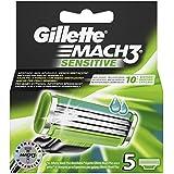 Gillette New Mach 3 Sens Lame X 5
