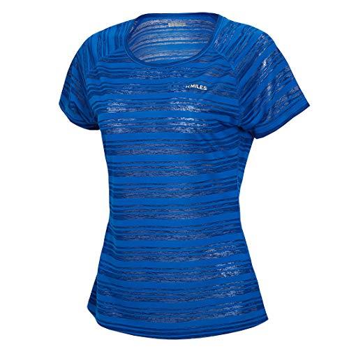 H.MILES Damen Kurzarm Laufshirt Dri-fit T-Shirt - Forever Juniors T-shirt