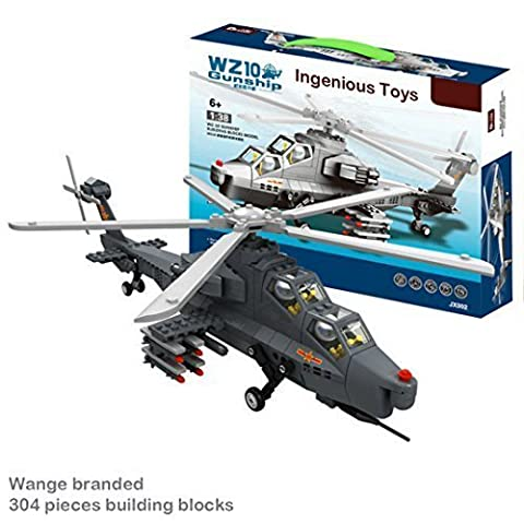 WZ10 Military Attack Helicopter / army war battle fighter jet tank plane #JX002