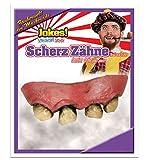 Scherzgebiss, für Erwachsene, Scherzzähne, Halloween, Grusel, Horror, Mottoparty (Faule Zähne)