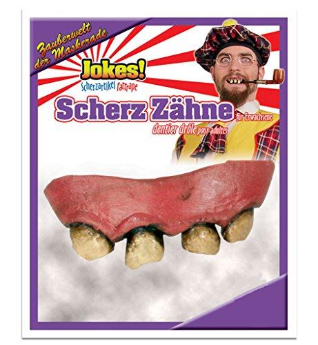 rwachsene, Scherzzähne, Halloween, Grusel, Horror, Mottoparty (Faule Zähne) (Halloween Faulen Zähnen)