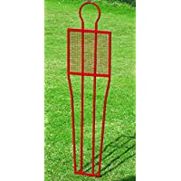 CreativeMinds UK Outdoor Football Sports Equipment Standard Penalty Steel W/Pegs Dummy Mannequin