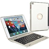 iPad Mini 4 Custodia con Tastiera, COOPER KAI SKEL Custodia A Guscio Rigido Per Il (Di Apple Desktop Pelle)