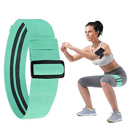 COPOZZ Loop Band, Textil Fitnessband, Verstellbares Trainingsband, rutschfeste, haltbare Widerstandsbänder, Gymnastik-Sportband, Widerstandsband, Hüftband für Arm Bein Po Übungen, Muskelkrafttraining