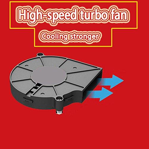 JHKJ Dünner CPU-Turbofan-Heizkörper/Computer Eine Maschine/Temperaturüberwachung/Kupferner Kern/CPU-Ventilator/Plattform 115X / I3 / I5 / I7 -