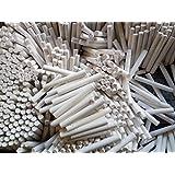 Gold & Gold Dustless White Chalk - Pack of 50 sticks