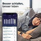 Fitbit Versa 2 - Gesundheits- & Fitness-Smartwatch mit Sprachsteuerung, Schlafindex & Musikfunktion, Schwarz/Carbon - 7