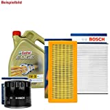 BOSCH FILTER SET INSPEKTIONSPAKET + 5L CASTROL 5W-30