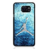 Michael Jordan Brand Logo Samsung Galaxy S6 Edge Plus Anti-Drop Phone Carcasa Case