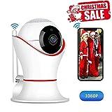 Balscw-J HD 1080P 360 Home Wireless Security-Dome-IP-Kamera mit 3D-Navigation Panorama-Ansicht Nachtsicht Zwei-Wege-Audio, Bewegungserkennung, Innenüberwachung