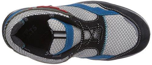 Mts Sicherheitsschuhe My Energy Wave Energy S1p Flex 49911, Chaussures de sécurité Mixte adulte Multicolore (blau/grau/schwarz)